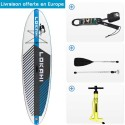 SUP Gonflable Lokahi Mares 10.4 + Pagaie Vario White