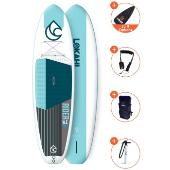 Pack SUP Gonflable Lokahi W.E Rider 10'6 + paddle 20%