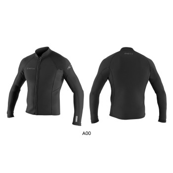 Top Néoprène O'Neill Reactor II Front Zip 2mm 2019