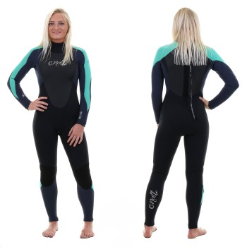 Combinaison O'Neill Epic 2019 Back Zip 5/4 Black/Navy