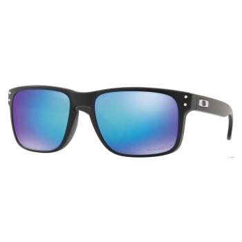 Lunettes de soleil Oakley Holbrook Matte Black / Prizm Sapphire / Polarised