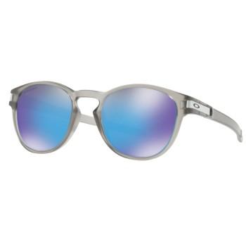 Lunettes de soleil Oakley Latch Matte Grey Ink / Prizm Sapphire Polarised