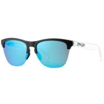 Lunettes de soleil Oakley Frogskins Lite Matte Black Matte Clear / Prizm Sapphire iridium