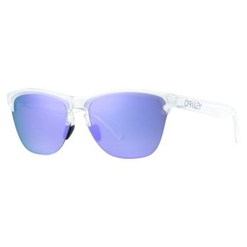Lunettes de soleil Oakley Frogskins Lite Matte Clear / Violet irridium