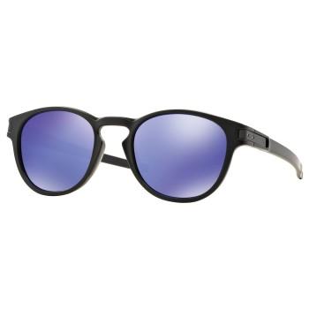 Lunettes de soleil Oakley Latch Matte Black /Violet Iridium