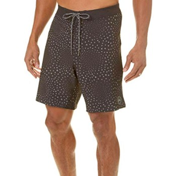 Rusty Boardshort Combust Black