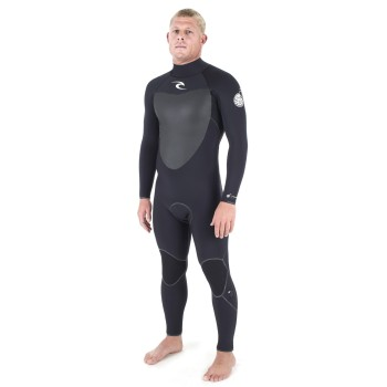 Combinaison Rip Curl Flashbomb 5/3 Back Zip 2017 Black
