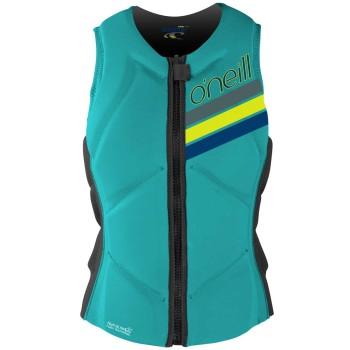 Impact Vest O'neill Wms Slasher Comp Vest Aqua/ 2017