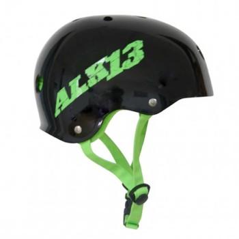 Casque ALK13 H2O+ Black - Logo Green