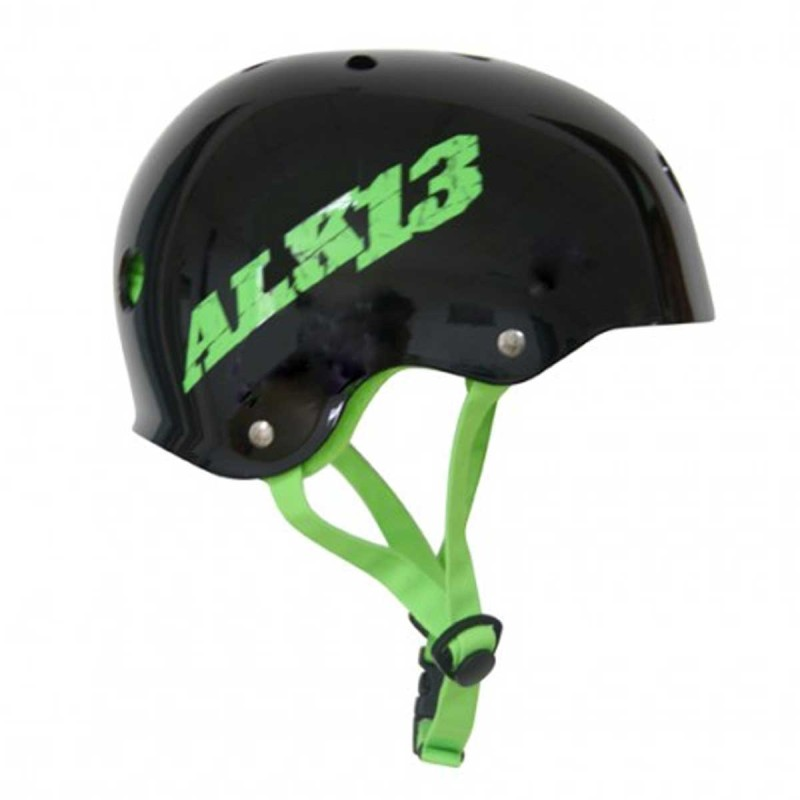 Casque ALK13 H2O+ Black - Logo Green