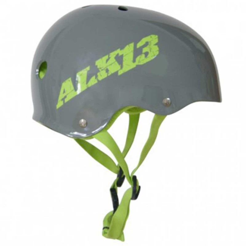 Casque ALK13 H2O+ Grey - Logo Green