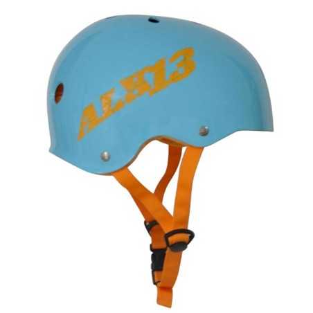 Casque ALK13 H2O+ Blue - Logo Orange