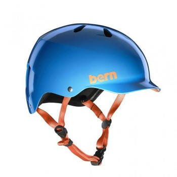 Casque Bern Watts H2O Gloss Azure Blue