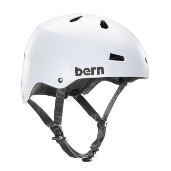 Casque Bern Macon H2O Satin White