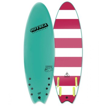 Planche de Surf Odysea Skipper Quad 6'0 Turquoise