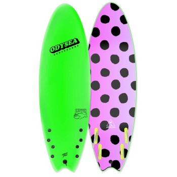 Planche de Surf Odysea Skipper Quad 6'6 Lime