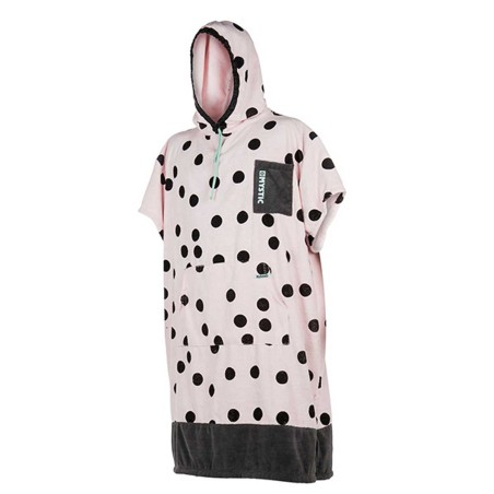 Poncho Mystic Allover Pink