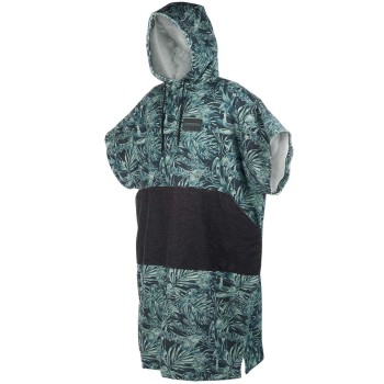 Mystic Poncho Green Allover