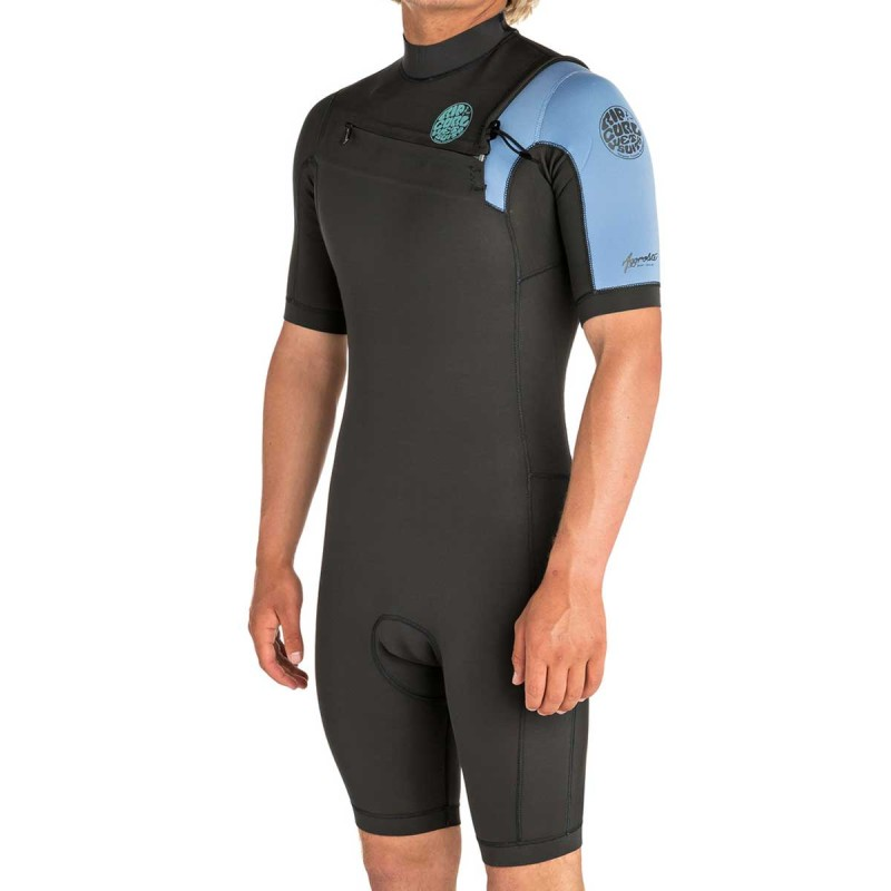 Combinaison Shorty Rip Curl Aggrolite 2mm 2019 Front Zip