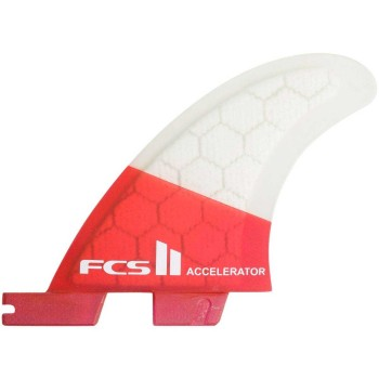 Ailerons FCS II Accelerator PC Red Mood Tri Set