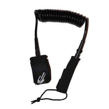 SUP Leash Lokahi Coil 9'0 Black