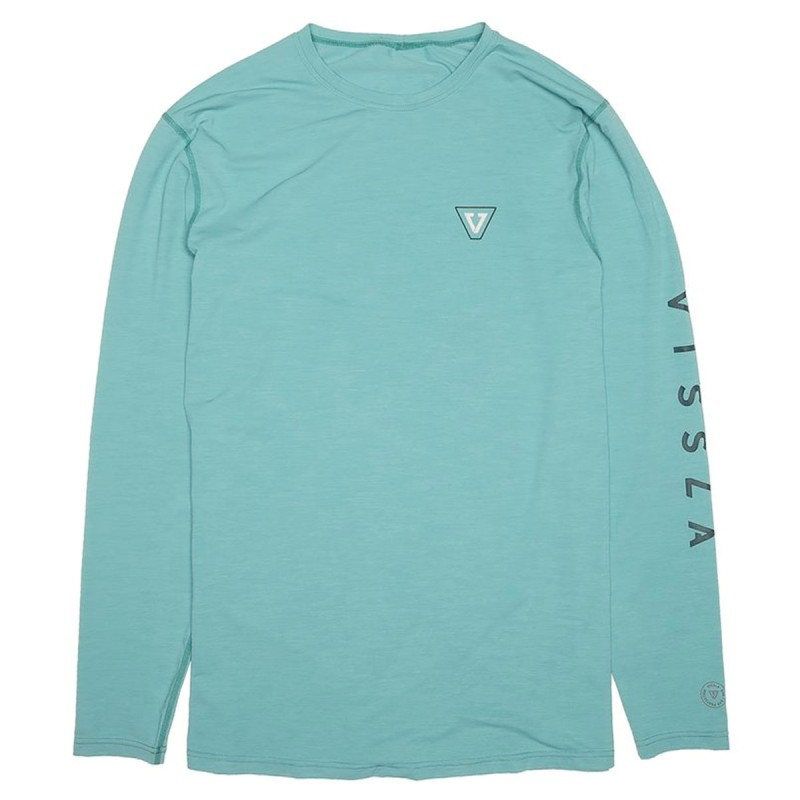 Lycra Vissla Alltime LS Jade Heather
