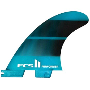 Ailerons FCS II Tri-Fins Performer Neo Glass