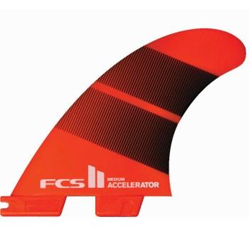 Ailerons FCS II Accelerator Neo Glass Tri Fins