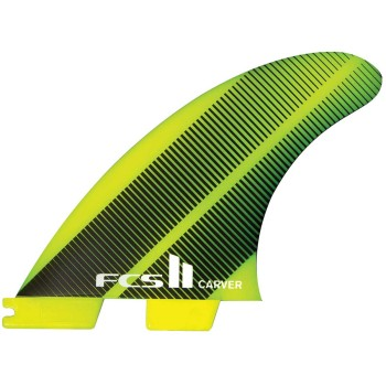 Ailerons FCS II Tri-Fins Carver Neo Glass