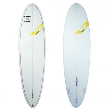 Planche surf Blackwings 6'8 Egg Wave Rocket Cristal Clear
