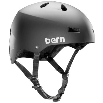 Casque Bern Macon H2O Matte Black
