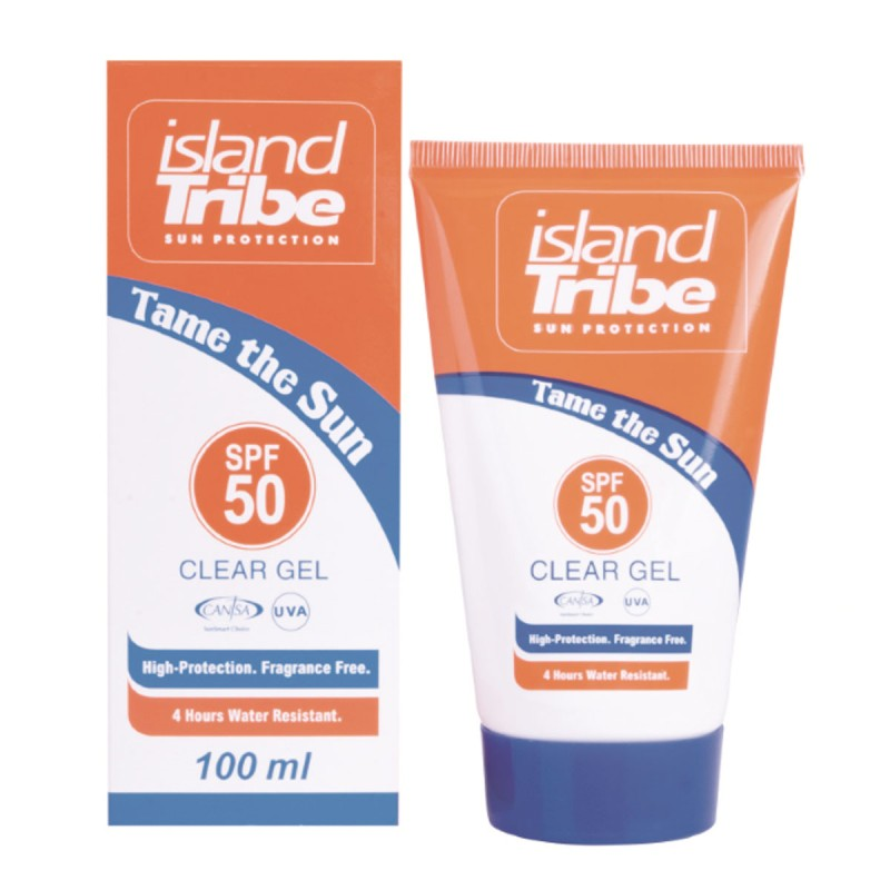 Crème solaire Island Tribe SPF50 gel 100ml
