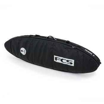 Housse de Surf FCS Travel 2 All Purpose Black Grey