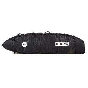 Housse de Surf FCS Travel 3 Wheelie Fun Board Black / Grey