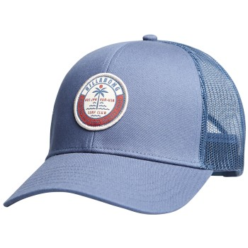 Casquette Billabong walled trucker blue