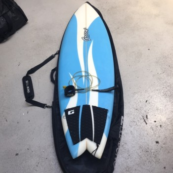 Planche de Surf Green 6'2