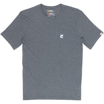 T-Shirt Element Current SS Charcoal Heather