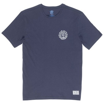 T-Shirt Element Too Late Logo SS Eclipse Navy