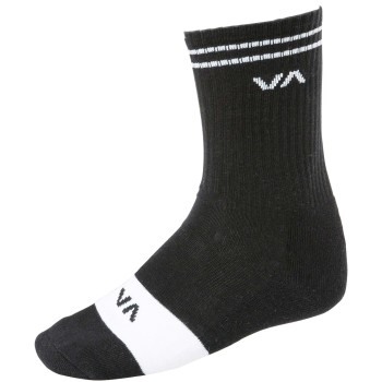 Chaussettes RVCA union Skate Sock Black