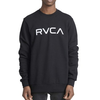 Sweat RVCA Big RVCA Crew Black
