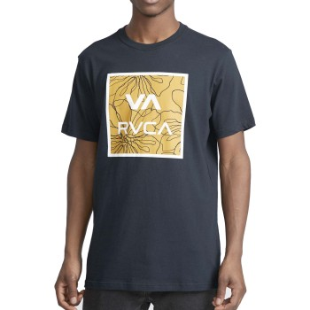 T-Shirt RVCA va all the ways multi ss Blue