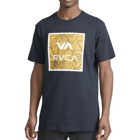 T-Shirt RVCA va all the ways multi s-s Blue