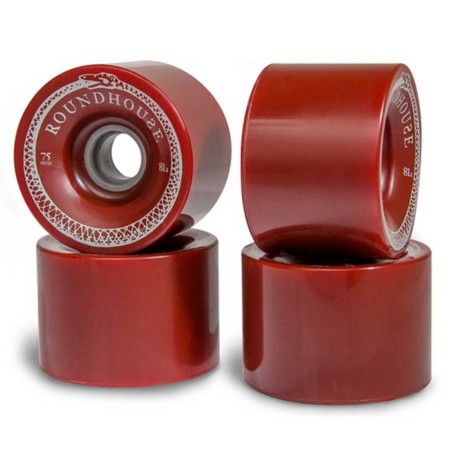 Pack (4 roues) Carver Skate Roundhouse Mag Oxblood 75/81A