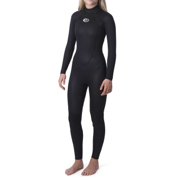 Combinaison Rip Curl Omega WMNS 4/3mm Back Zip 2020 Black