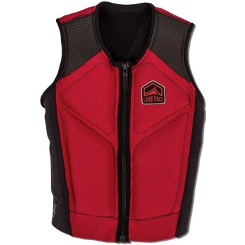 Gilet Wake Impact vest Liquid Force Comp 2019 Red