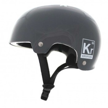 Casque Street ALK13 Krypton Grey Glossy