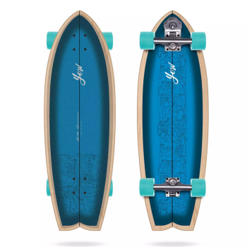 "surf skate yow aritz aranburu 32.5""signature series"