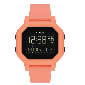 montre nixon siren light tangerine