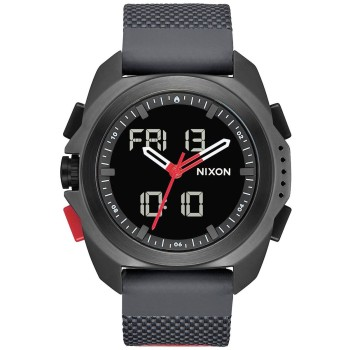 Montre Nixon Ripley Black / Red / Recco