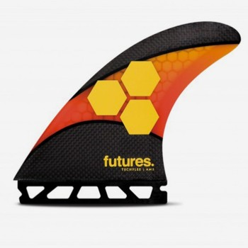 Ailerons Futures Thruster - FAM2 Al Merrick Techflex orange / red